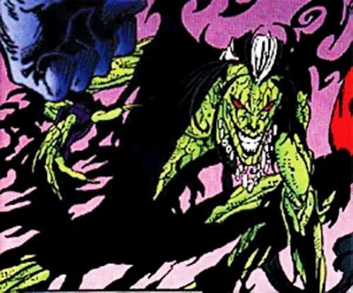 Halloween Jack (X-Men 2099 enemy) (Marvel Comics) ready for action