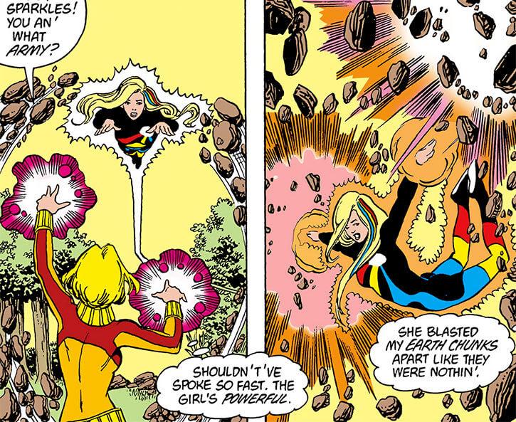 Halo (DC Comics) (Gabrielle Doe) (Outsiders) vs Tera George Perez