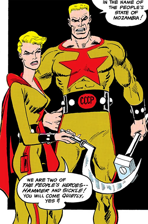 Hammer and Sickle of the People's Heroes (DC Comics)