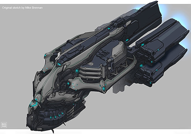 Warframe - Orbiter ship