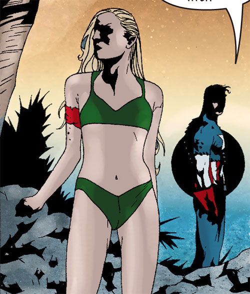 Hana of Atlantis (Captain America ally) (Marvel Comics) in a bikini