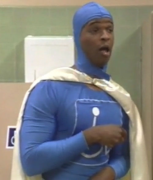 Handi-Man (Damon Wayans in In Living Colors) mouth gaping