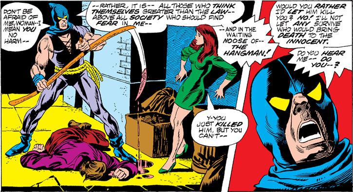 Hangman (Marvel Comics) (Harlan Krueger) junkie murder