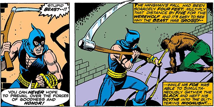 Hangman (Marvel Comics) (Harlan Krueger) vs. werewolf