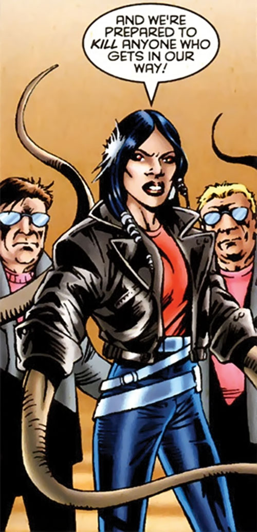 Brood Queen Hannah Connover (X-Men character) (Marvel Comics) broodlings 3/3