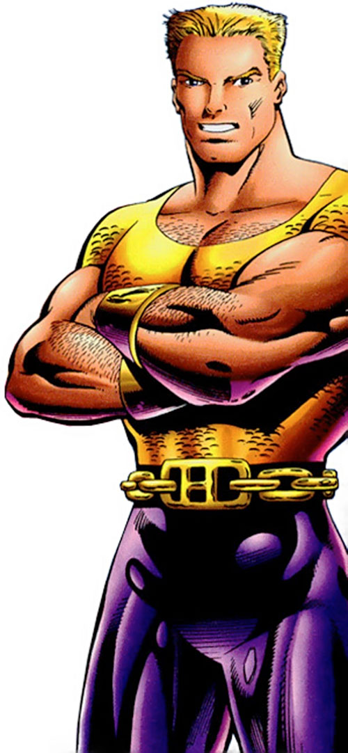 Hardcase (Malibu Ultraverse comics) in his early days