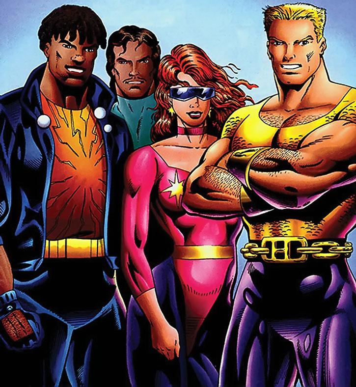 The Squad (Hardcase, Starburst, Forsa, DJ Blast)