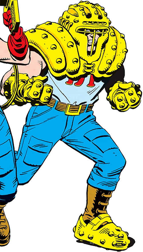 Hardhat (DC Comics) (Demolition Team) from the Who's Who