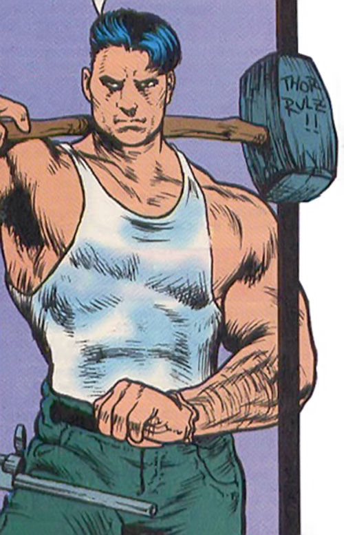 Hardhat of Cannibal Catch (Nomad enemy) (Marvel Comics)