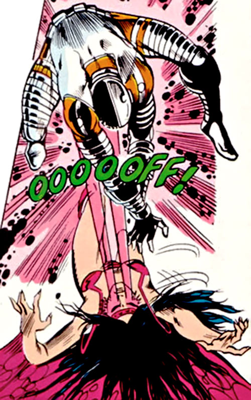 Harpi vs. Cyborg