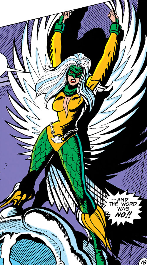 Harpy (Batman enemy) (Maxie Zeus) (DC Comics)