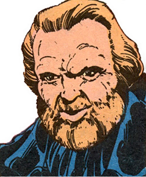 Harry Leland (Marvel Comics) (X-Men enemy) face closeup