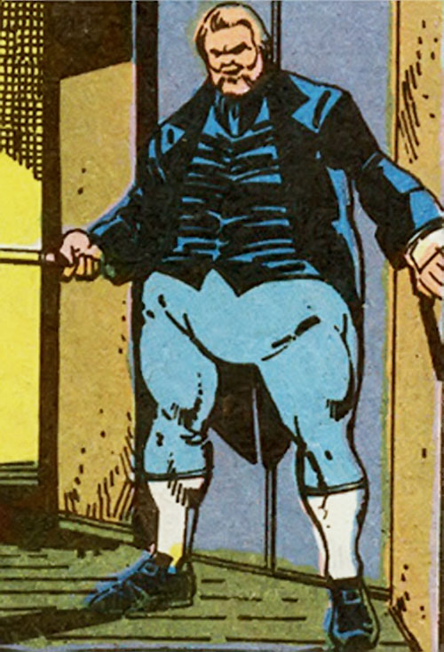 Harry Leland (Marvel Comics) (X-Men enemy) on the threshold