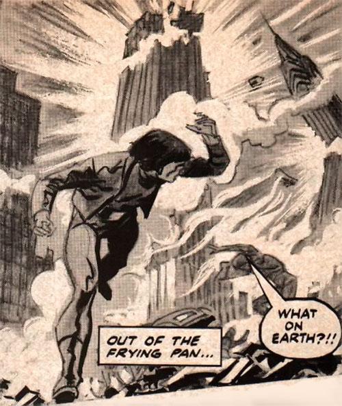 Harry Pitzer (Marvel Comics) (Worlds Enough) apocalypse