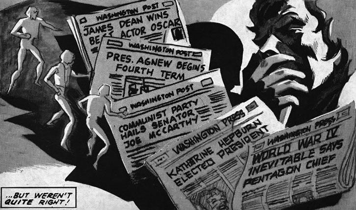 Alternate history US newspapers
