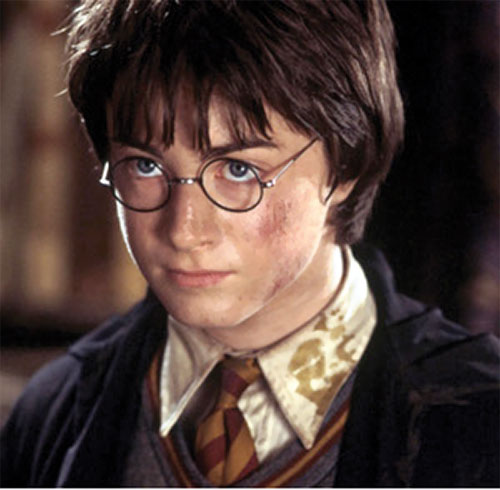 Harry Potter (Daniel Radcliffe in HP and the Chamber of Secrets) at age 12