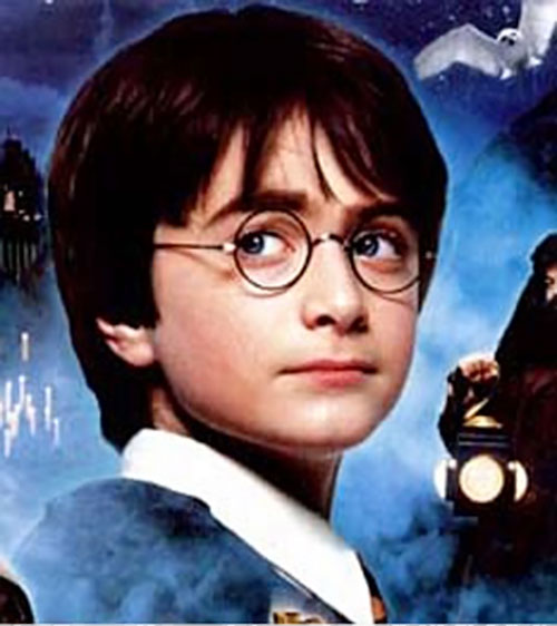 Harry Potter (Daniel Radcliffe) during the Philosopher's Stone era