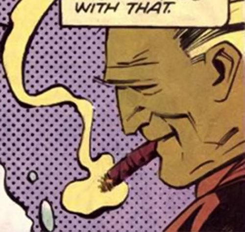 Hartly (Argus enemy) (DC Comics) face closeup