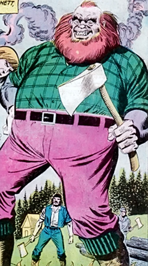 Hatchett (Richard Dragon enemy) (DC Comics)