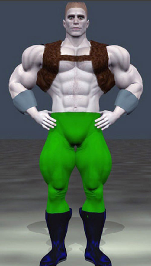 Hauler (DC Heroes RPG) Poser render