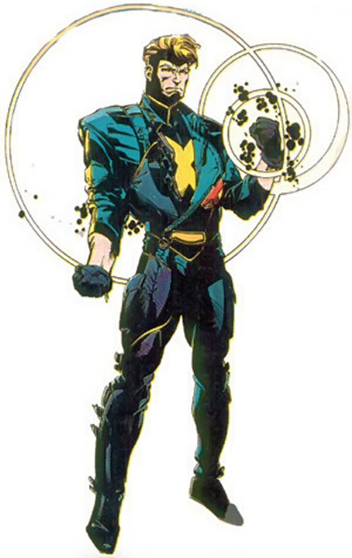 Havok (Marvel Comics) in his 1990s X-Factor uniform