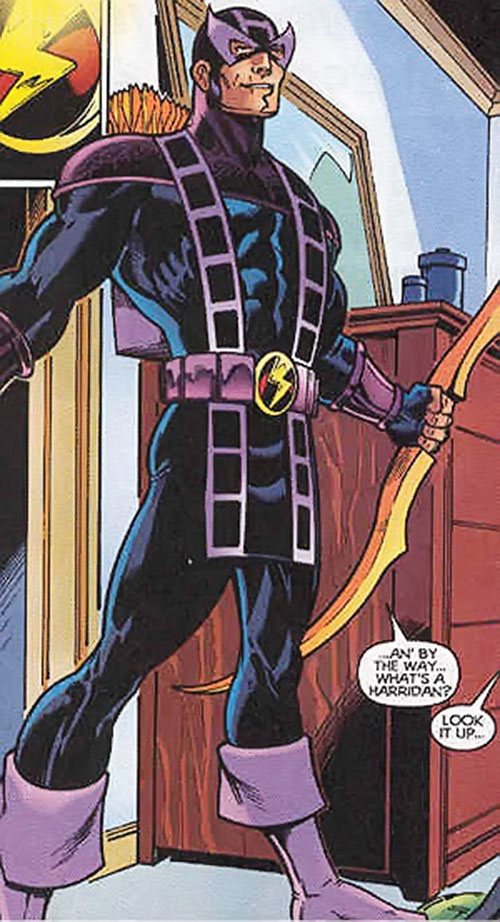 Hawkeye (Marvel Comics) in his Thunderbolts costume