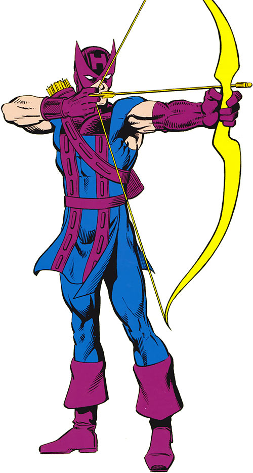 Hawkeye (Marvel Comics) during the 1980s