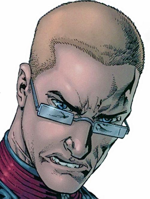 Ultimate Hawkeye (Marvel Comics) face closeup