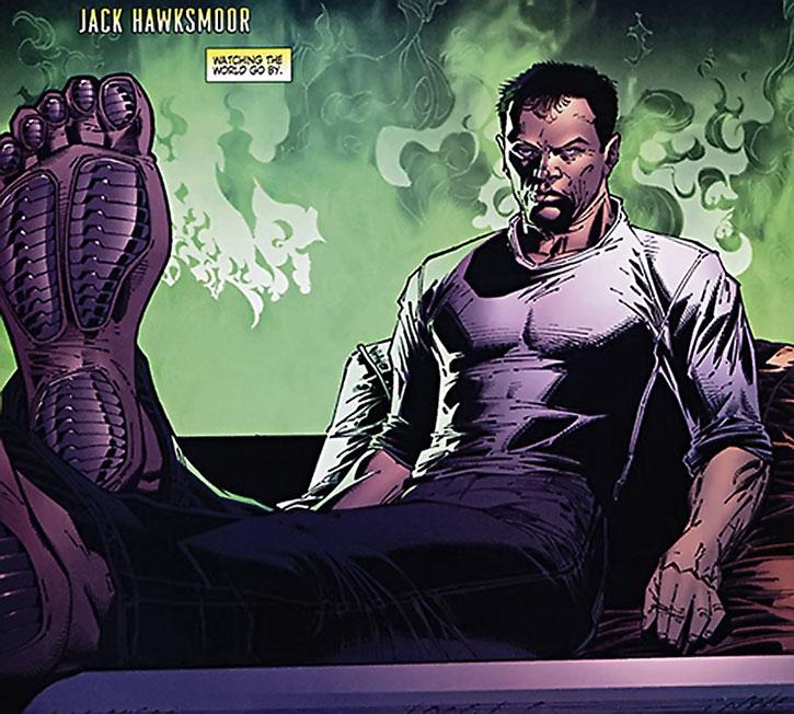 Jack Hawksmoor's soles