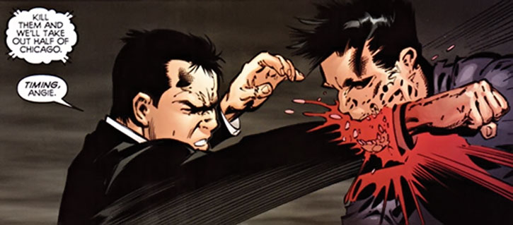 Jack Hawksmoor fighting