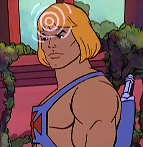 He-Man (Masters of the Universe cartoon) using telepathy