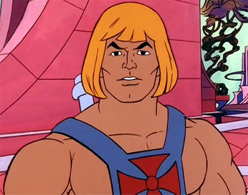 He-Man (Masters of the Universe cartoon) portrait