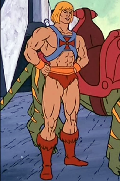 He-Man (Masters of the Universe cartoon) posing