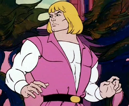 He-Man (Masters of the Universe cartoon) Prince Adam