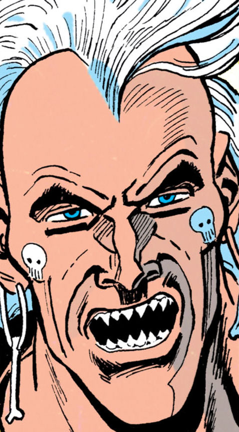 Headhunter (Batman enemy) (DC Comics) face closeup