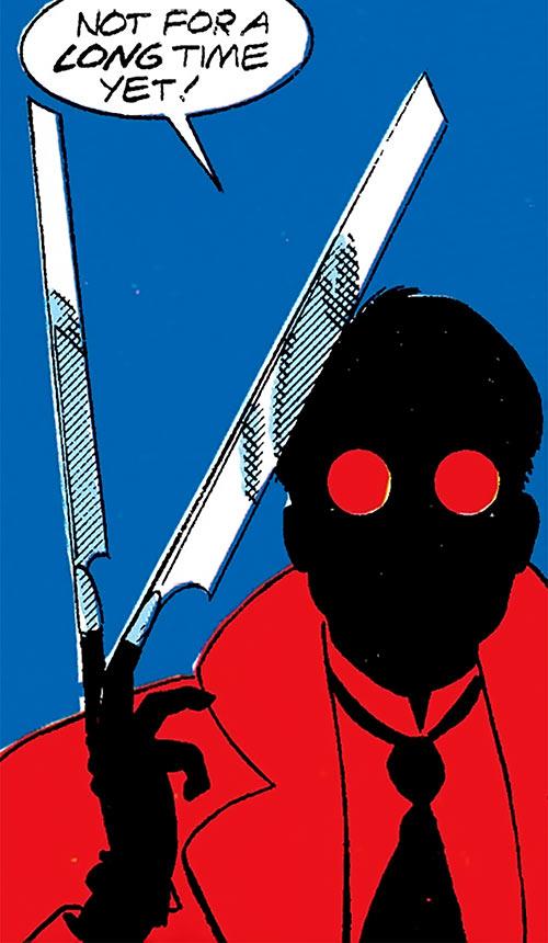 Headhunter (Namor enemy) (Marvel Comics) with her finger blades