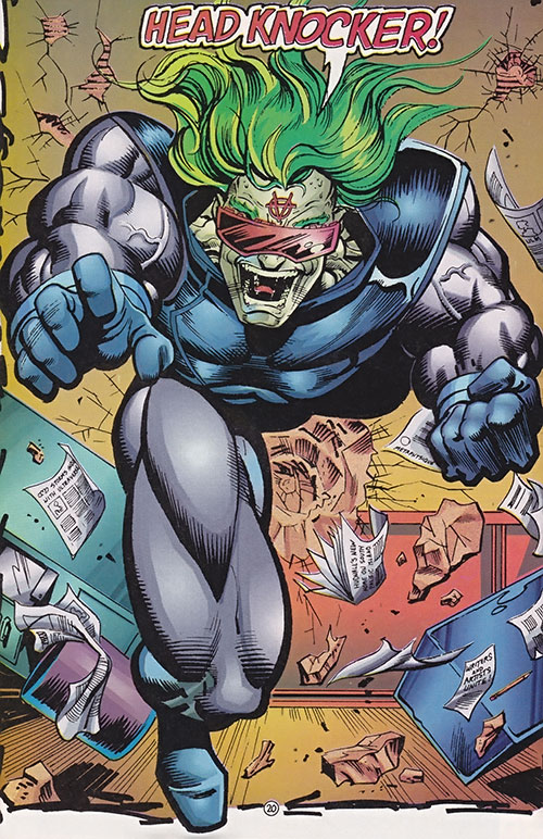 Headknocker (Ultraverse Malibu comics) (Hardcase enemy)