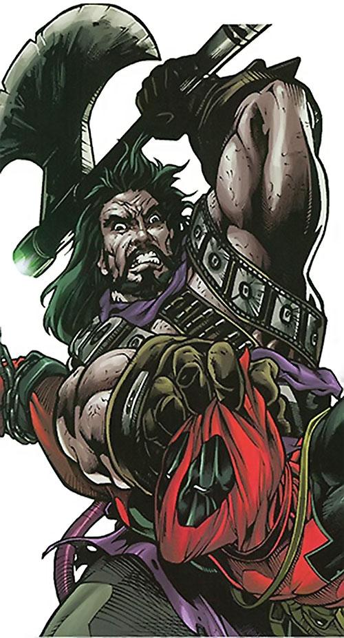 Headsman of the Thunderbolts (Marvel Comics) vs. Deadpool