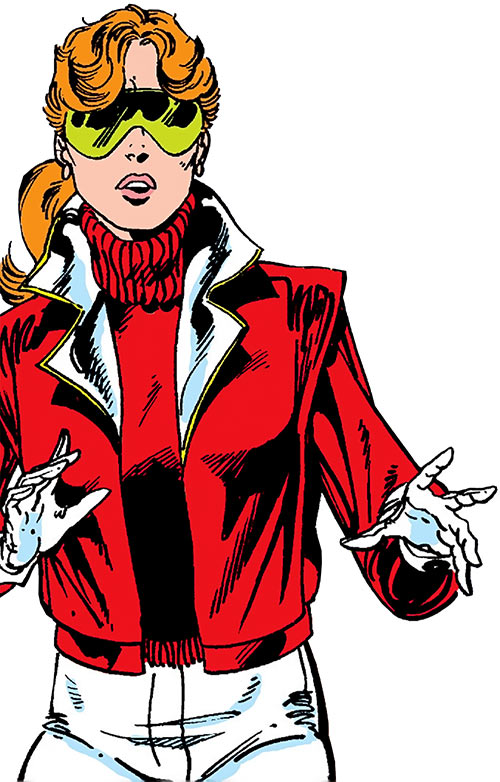 Heather Hudson (Alpha Flight) (Marvel Comics) with Snowbird and Aurora