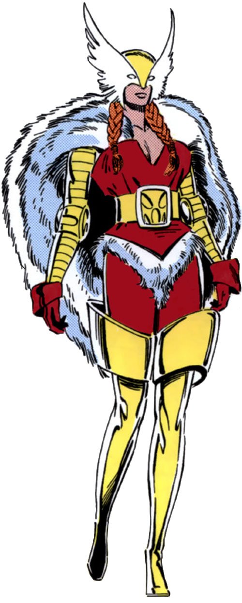 Heather Hudson (Alpha Flight) (Marvel Comics) magically transformed