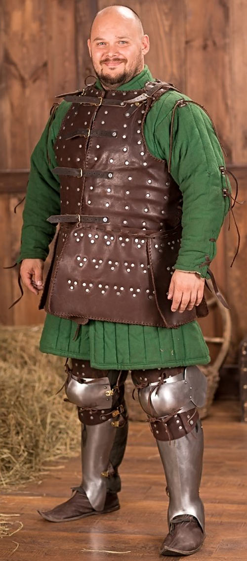 Heavy low-tech armour in RPGs guide - Brigandine - Steel Mastery