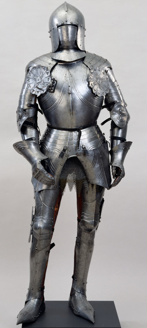 Heavy low-tech armour in RPGs guide - Italian full plate