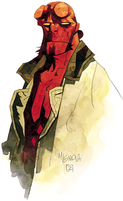 Hellboy (Dark Horse Comics by Mike Mignola)