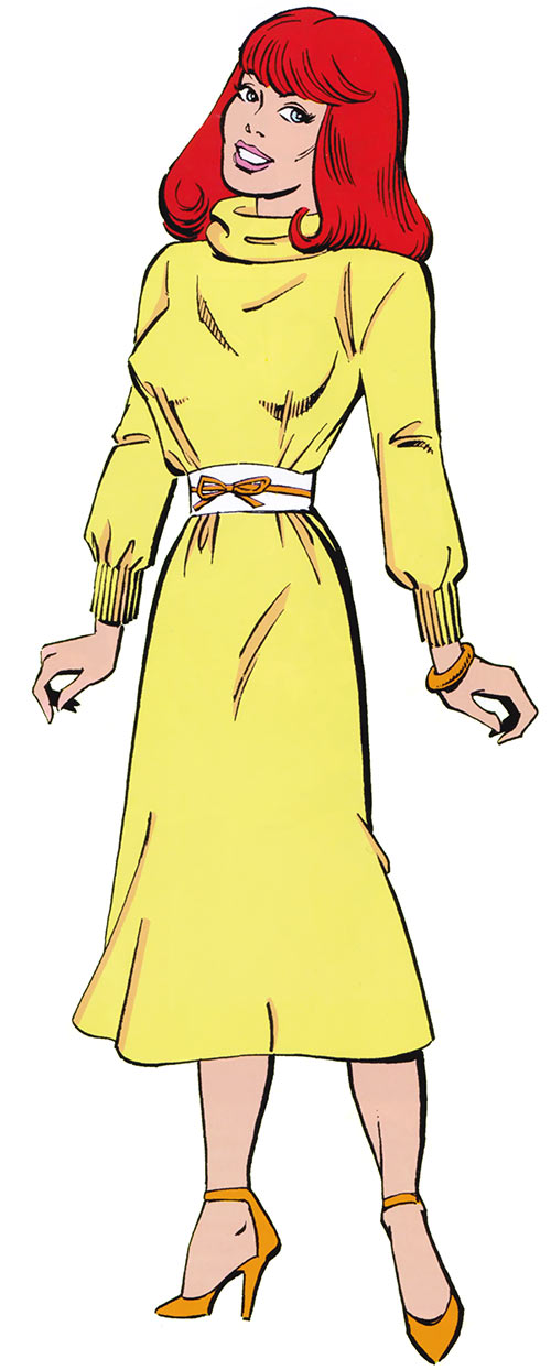 Hellcat (Patsy Walker) (Marvel Comics) without a costume