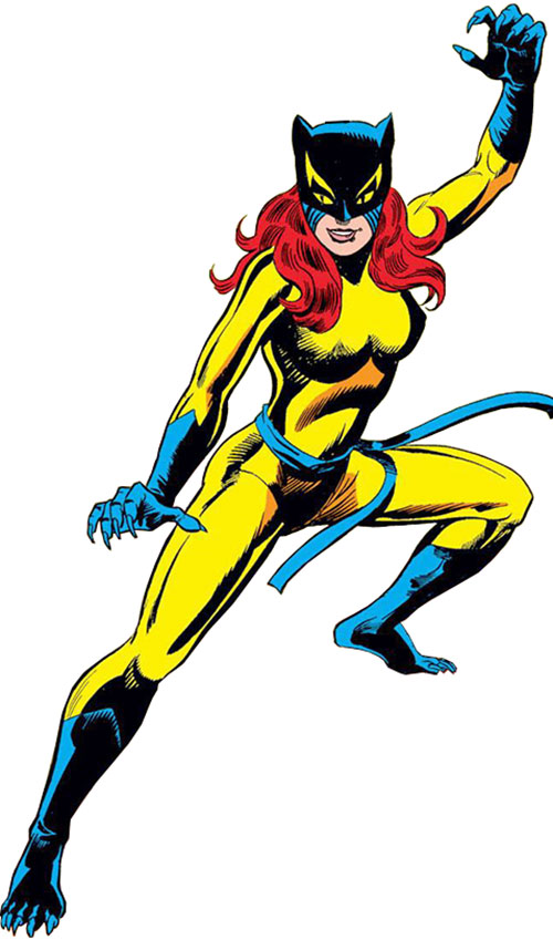Hellcat (Patsy Walker) (Marvel Comics) classic costume