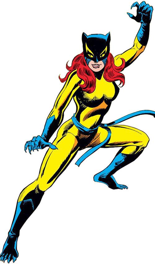 hellcat marvel comics defenders patsy walker