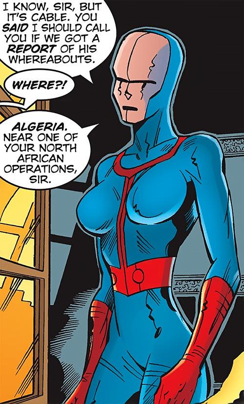 Hellfire Club (Marvel Comics) (Sebastian Shaw 1) - female mercenary masked