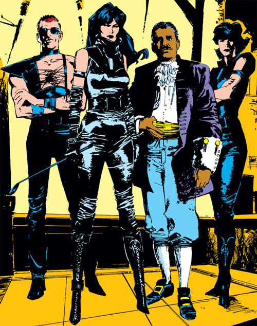 Hellfire Club (Marvel Comics) (Sebastian Shaw 1) - Selene and Emmanuel da Costa
