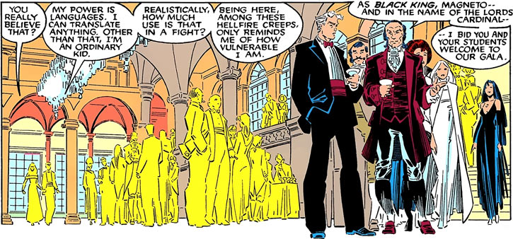 Hellfire Club (Marvel Comics) (Sebastian Shaw 1) - ballroom crowd