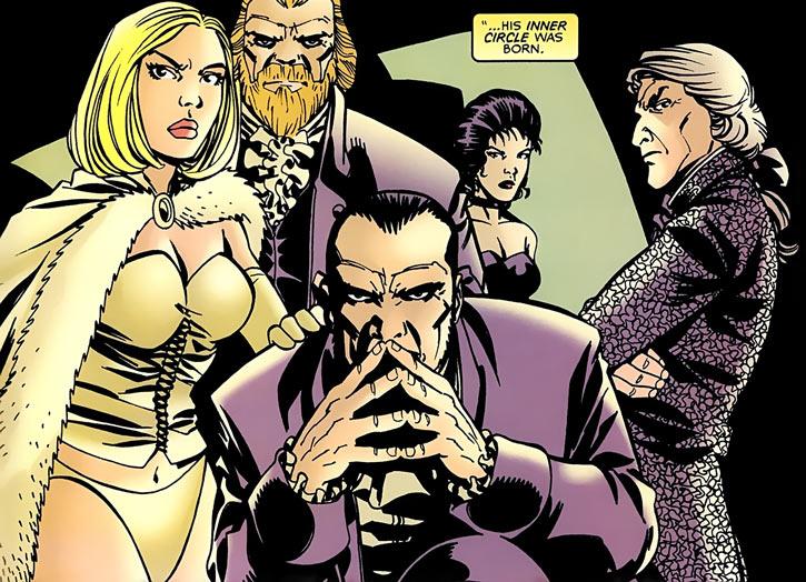 Hellfire Club (Marvel Comics) (Sebastian Shaw 1) - Lord Cardinals
